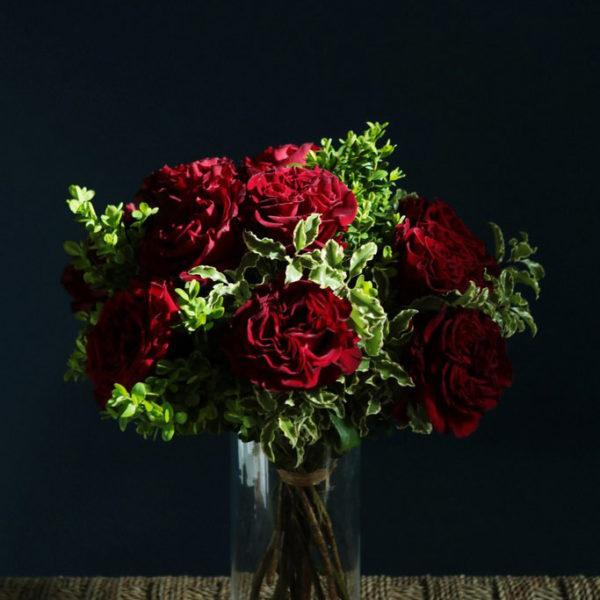 Bouquet d'amour par votre artisan fleuriste à Versailles Arbre à Pivoines