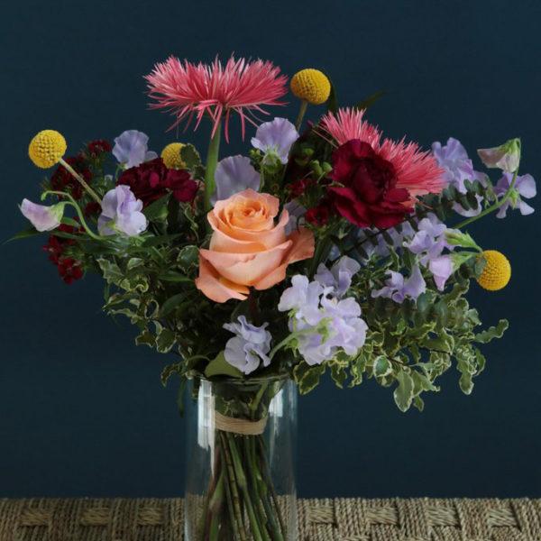 Bouquet d'anniversaire par votre artisan fleuriste à Versailles Arbre à Pivoines